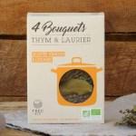 bouquet garni bio cultivé en france, en provence, boite carton truc