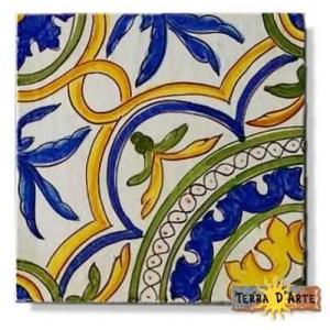 decoro siciliano in ceramica TD 231