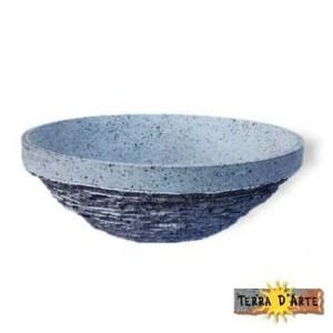 lavello in pietra lavica dell'Etna naturale
