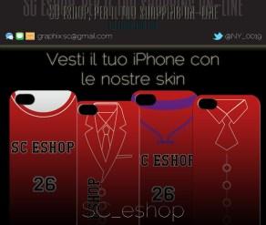 Nell'SC eshop è possibile personalizzare la propria skin con tantissimi design d'abbigliamento