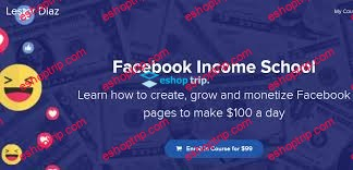 Facebook Income School with Lester Diaz