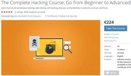 The Complete Hacking Course Go from Beginner to Advanced