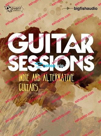 Big Fish Audio Guitar Sessions Indie and Alternative Guitars KONTAKT