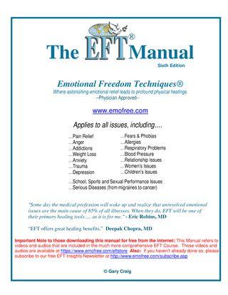 Gary Craig Mastering EFT