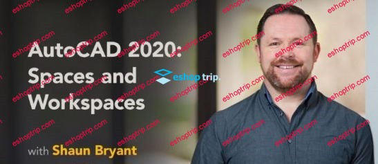 AutoCAD 2020 Spaces and Workspaces