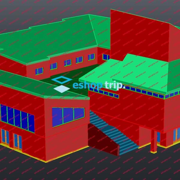 AutoCAD 3D Architectural Modeling 2019