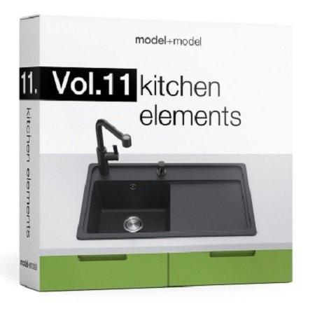 model model Vol.11 Kitchen elements