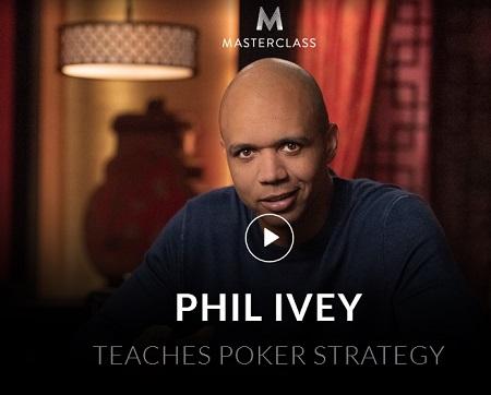 MASTERCLASS Phil Ivey Teaches Poker Strategy