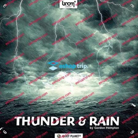 Boom Library Thunder Rain