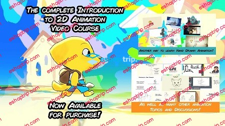 Toniko Pantoja The Complete Introduction to 2D Animation Full Package
