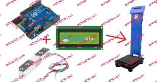 Automatic Weight Measuring Machine using Arduino updated 9 2020