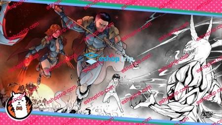 Comic Book Creation Masterclass Draw Amazing Superheroes
