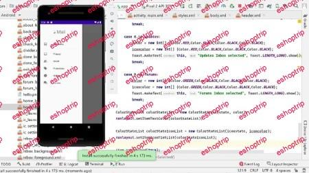 Android Studio Basics using JAVA Windows 10
