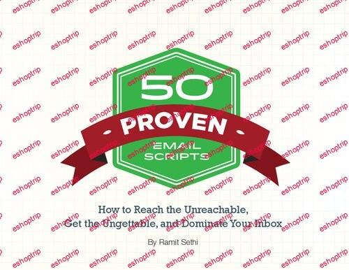 Ramit Sethi 50 Proven Email Scripts