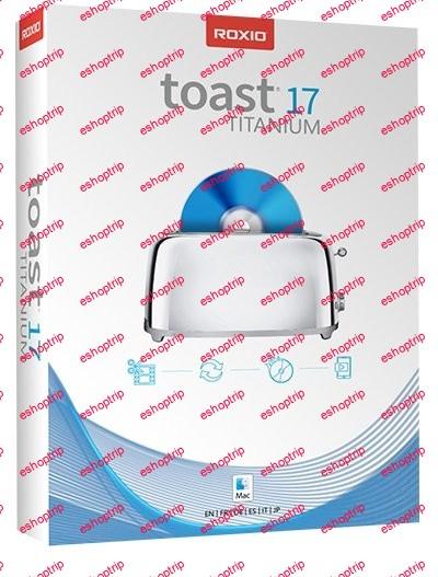 Roxio Toast Titanium 17.4 Multilingual macOS