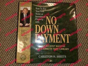 Carleton Sheets No Downpayment Real Estate not full