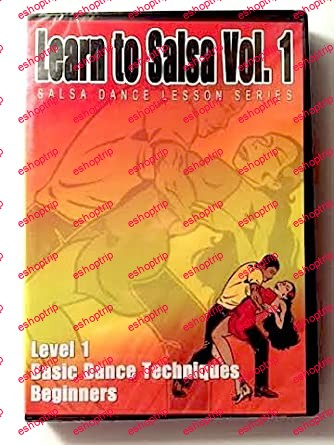 Salsa Crazy Presents Learn to Salsa Dance Volume 1 Salsa Dancing Guide for Beginners