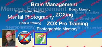 ZOX Training Brain Management Mental Photography – Improved