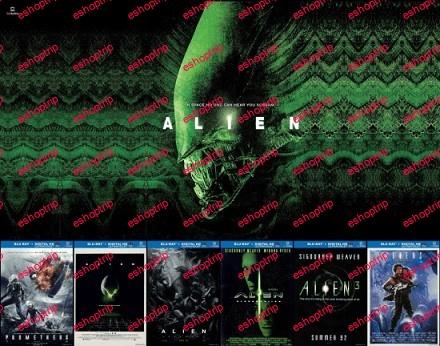 Alien Collection BluRay 10Bit 1080p
