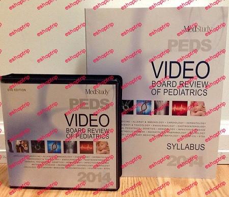 MedStudy 2014 Video Board Review of Pediatrics