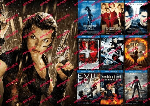Resident Evil Collection 1080p