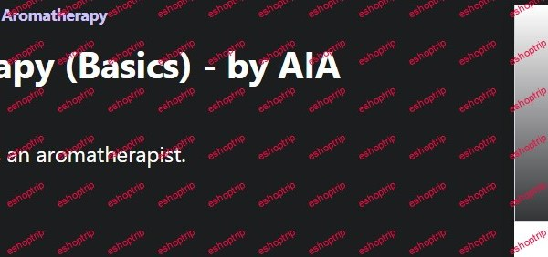 1. Super Aromatherapy Basics by AIA Aromatherapist