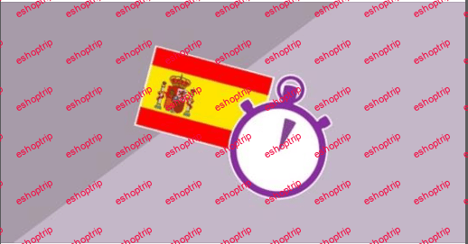 3 Minute Spanish Course 6 Language lessons for beginners