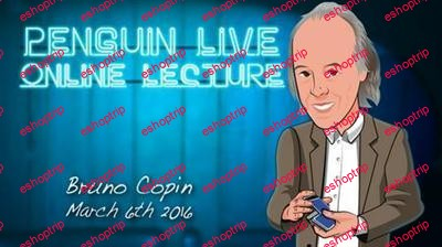 Penguin Live Online Lecture With Bruno Copin