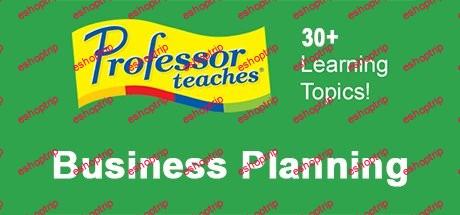 Professor Teaches Business Planning 1.1