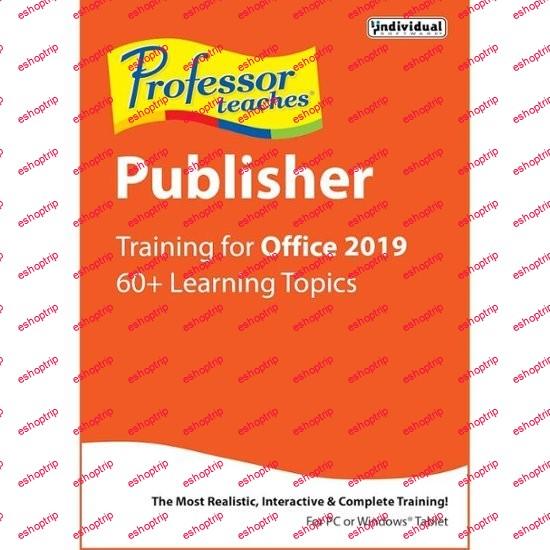 Professor Teaches Publisher 2019 v1.0
