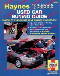 Used Car Buying Guide Guide to Inspecting and Buying a Used Car