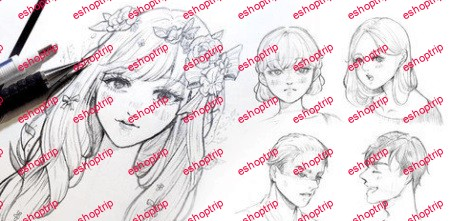 Anime Drawing Course How to draw FACE