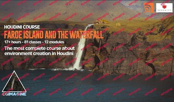 CGCircuit The Faroe Islands in Houdini