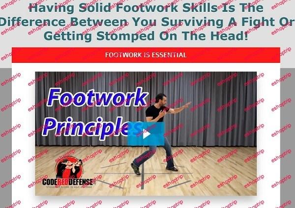 Codered Defense Footwork Principles