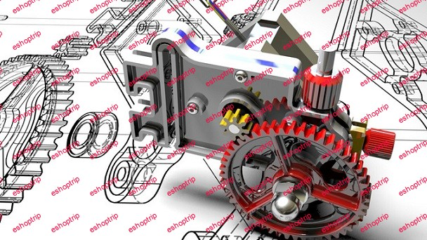 Design V6 Engine SolidWorks Real World Project Masterclass
