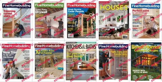 Fine Homebuilding 2017 Full Year Issues Collection