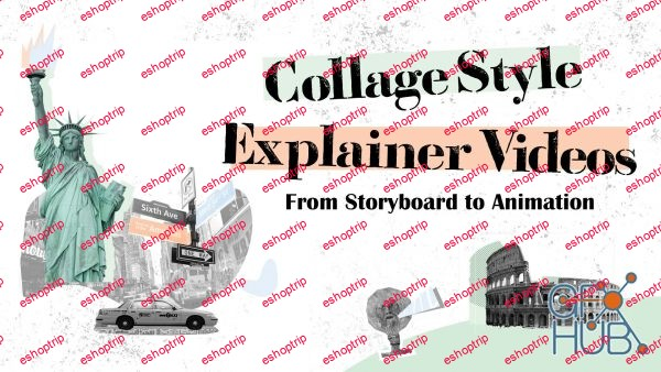 Intro to Motion Graphics Animate Collage Style Explainer Videos
