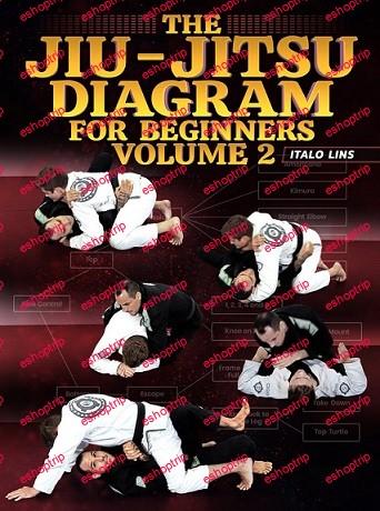 Italo Lins The Jiu Jitsu Diagram For Beginners Volume 2