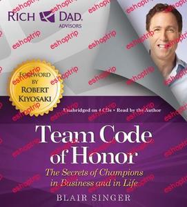 Rich Dad Advisors Team Code of Honor