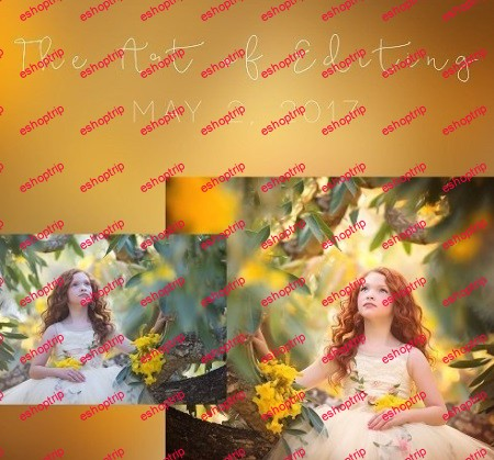 Sandra Bianco Photography The Art of Editing Girl in the Garden