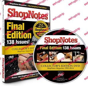ShopNotes Magazine The Complete Final Edition DVD