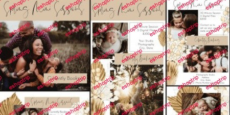 Twig Olive Photography Boho Rattan Marketing Set Bonus