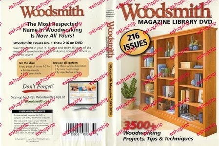 Woodsmith Magazine 1979 2014 DVD