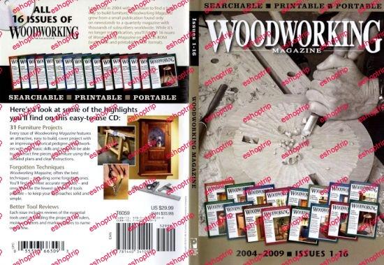 Woodworking Magazine 2004 2009 CD