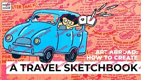 Art Abroad How to Create a Travel Sketchbook