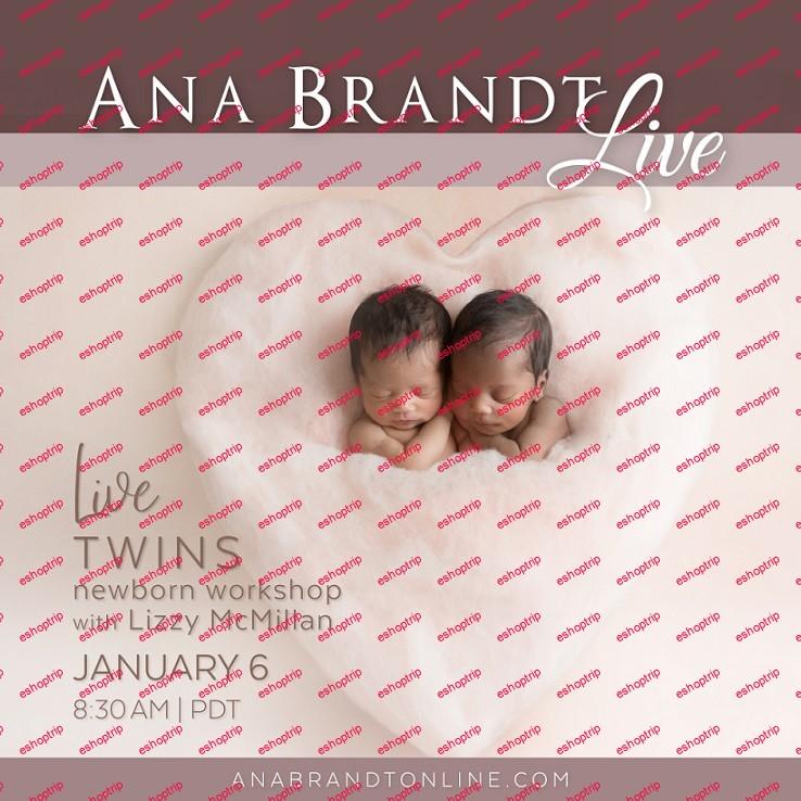 Live Newborn Twin Posing Workshop Ana Brandt
