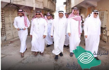الفالح: أعمال الإزالة في الكدوة والنكاسة خطوة فعلية لتطوير أحياء مكة