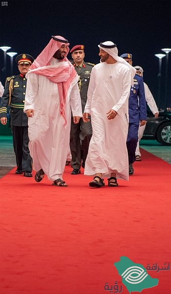ولي العهد يغادر دولة الإمارات العربية المتحدة