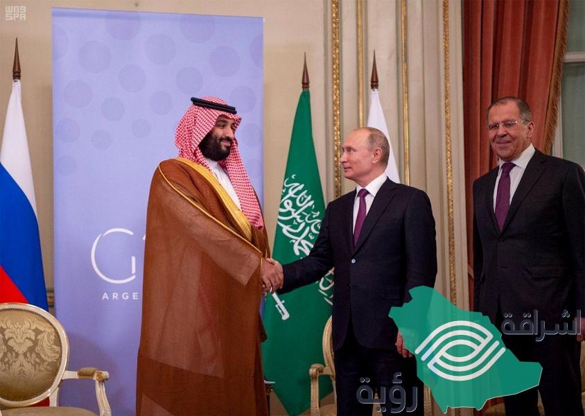 ولي العهد يلتقي رئيس روسيا على هامش قمة العشرين