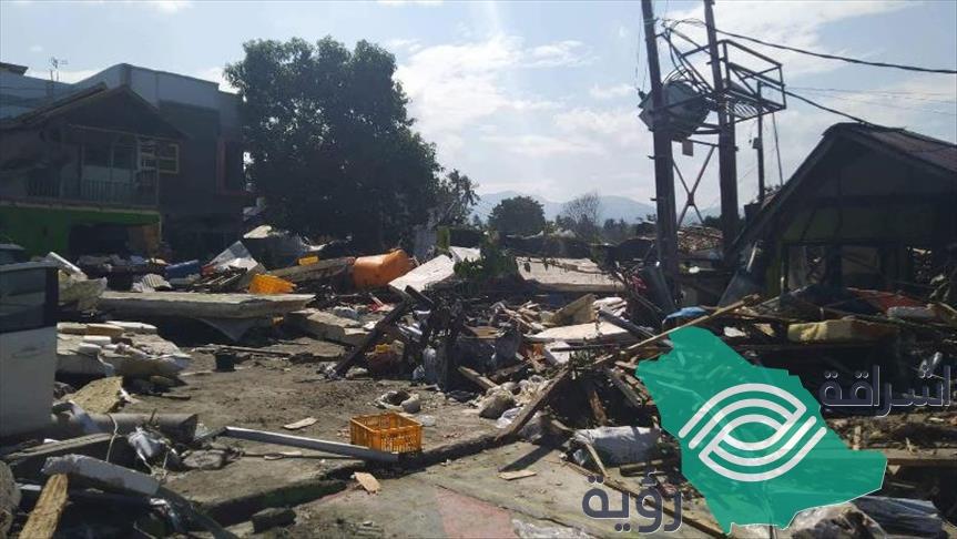 زلزال بقوة 5.6 درجات يضرب إقليم سومطرة الإندونيسي